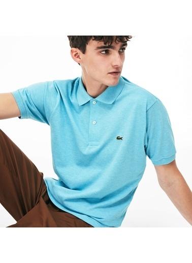 Lacoste Erkek Klasik Tişört L1264.PHV Mavi